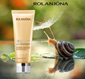 Rolanjona best face wash most popular snail moisturizing and whitening snail face cleanser