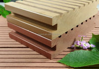 anti Compression solid composite wpc decking/preservative solid wood plastic compositedecking/solid composite decking