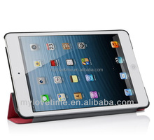 China factory wholesale upmarket pu leather flip case for ipad 2