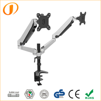 Professional LCD TV Table Mount for Dual Monitors GM324D