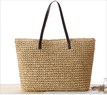 2016 Fashion Casual Retro Ladies Straw Paper Bag Woven Handbag Fashion beach Bags &shopping handbag