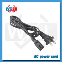 UL CSA approval flat US extension power cord 2 pin