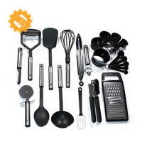 ALIBABA CHINA 23 piece cooking utensil set kitchen items a to z