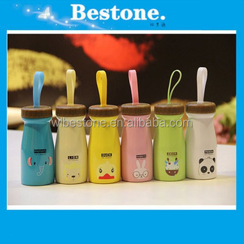 Novelty Creative Design Colorful Mug Color Animal family stainless steel vacuum Cup