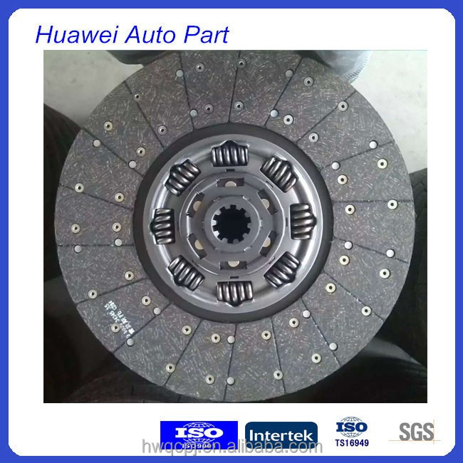 Durable truck parts of double spring disc clutch used for Iveco Scania