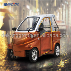 2 seat electric vehicle for old people use for disabled