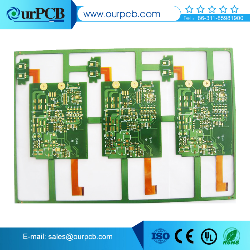 SMT rigid printed circuit board supplier 10 layer motherboard pcb