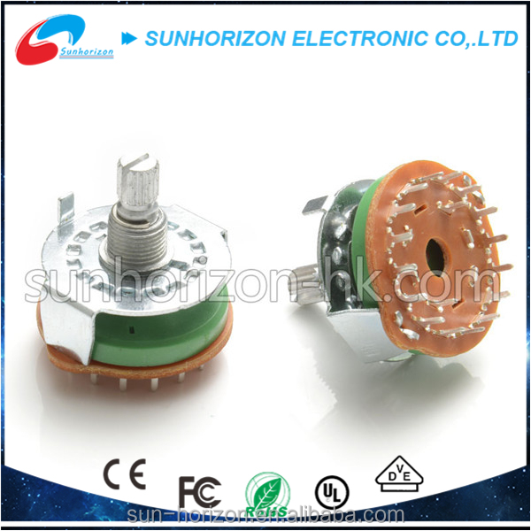 Volume Control DIY Potentiometer 2P 24 Step Rotary Switch