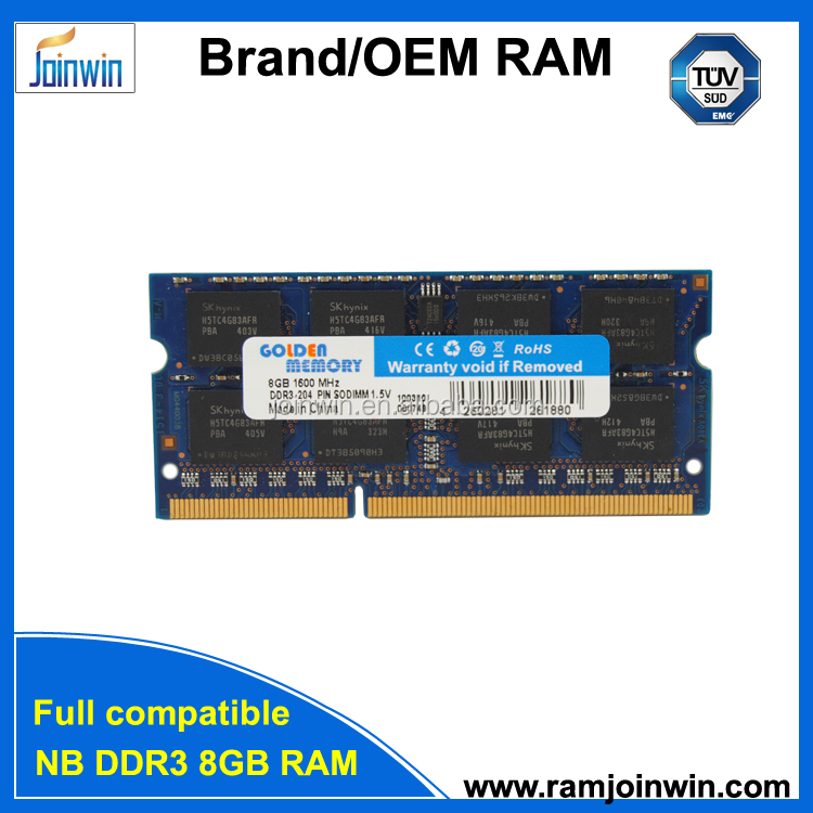 laptop computer ram memoria ddr3 8gb