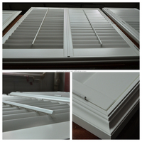 Popular in America silk white color high quality bass wood plantation shutter