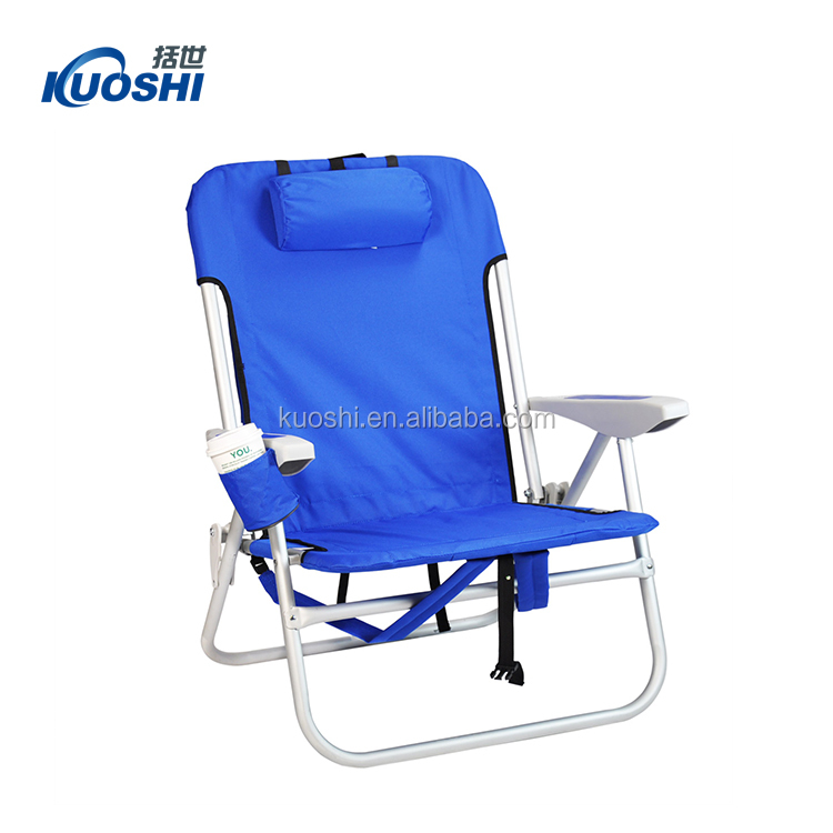 Folding travel sling beach chair