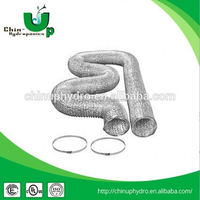hydroponics flexible duct/ air conditioner insulation duct/ aluminium flexible air duct