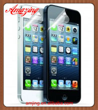 For iPhone 5 Ultra Clear Screen Protector with factory cheap price
