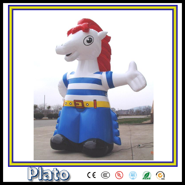giant outdoor display inflatable goat/advertising inflatable model for sale