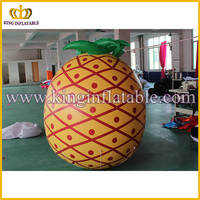 free customized outdoor inflatable advertising model ,pineapple fruit models inflatable
