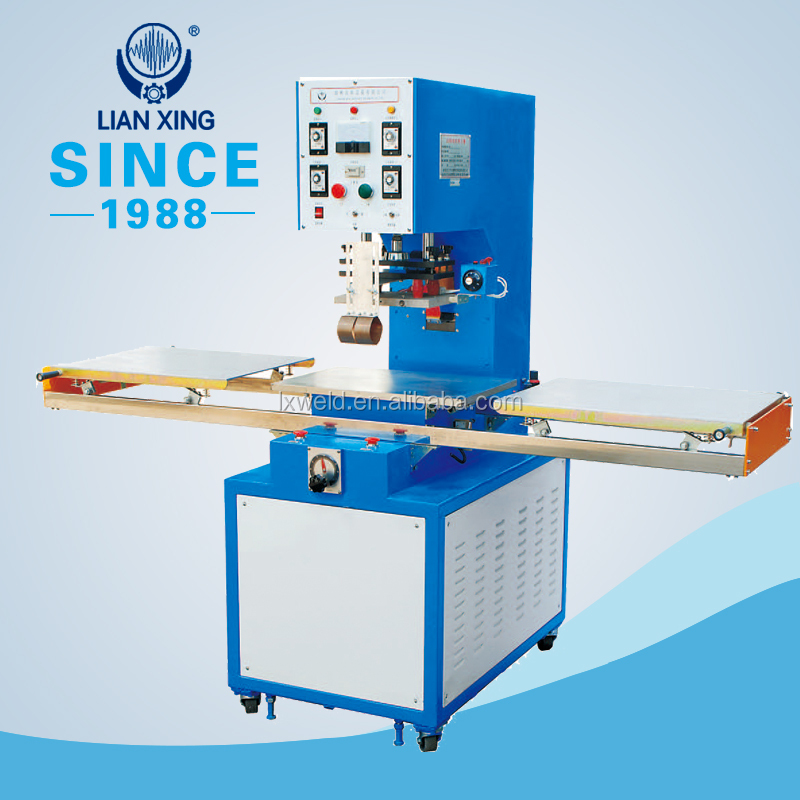 Moveable small power PVC & PET blister high-frequency welding packaging machine