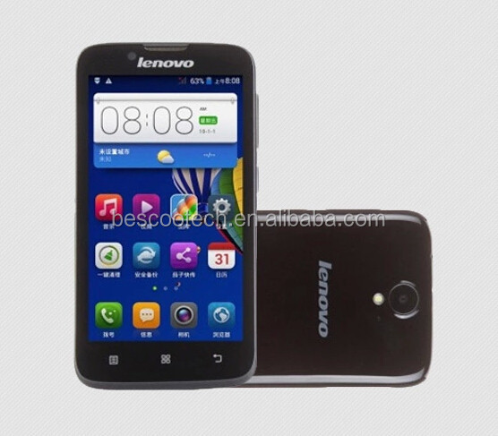Lenovo A338T smart Phone RAM 512MB+ROM 4GB Android 4.4 MTK6582 Quad Core 1.3GHz mobile Phones