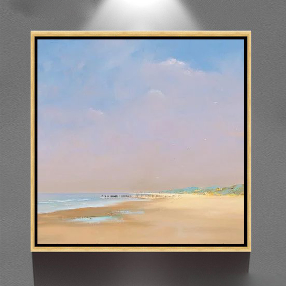 simple scenery paintings Famous abstract canvas art oil framed painting GZ-200