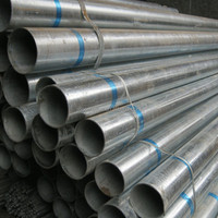 Hot dip galvanized steel pipe tubes /thin wall galvanized steel pipe A13