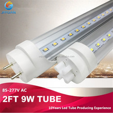 t8 LED integrated fixture plastic led tube components