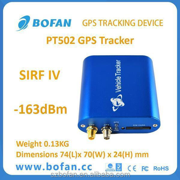 Mini gps tracker and vehicle tracking system software for fleet management and personal car