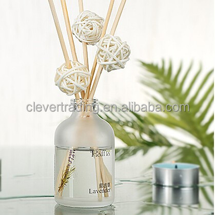 diffuser 100ml frosted glass aromatherapy bottle with stick