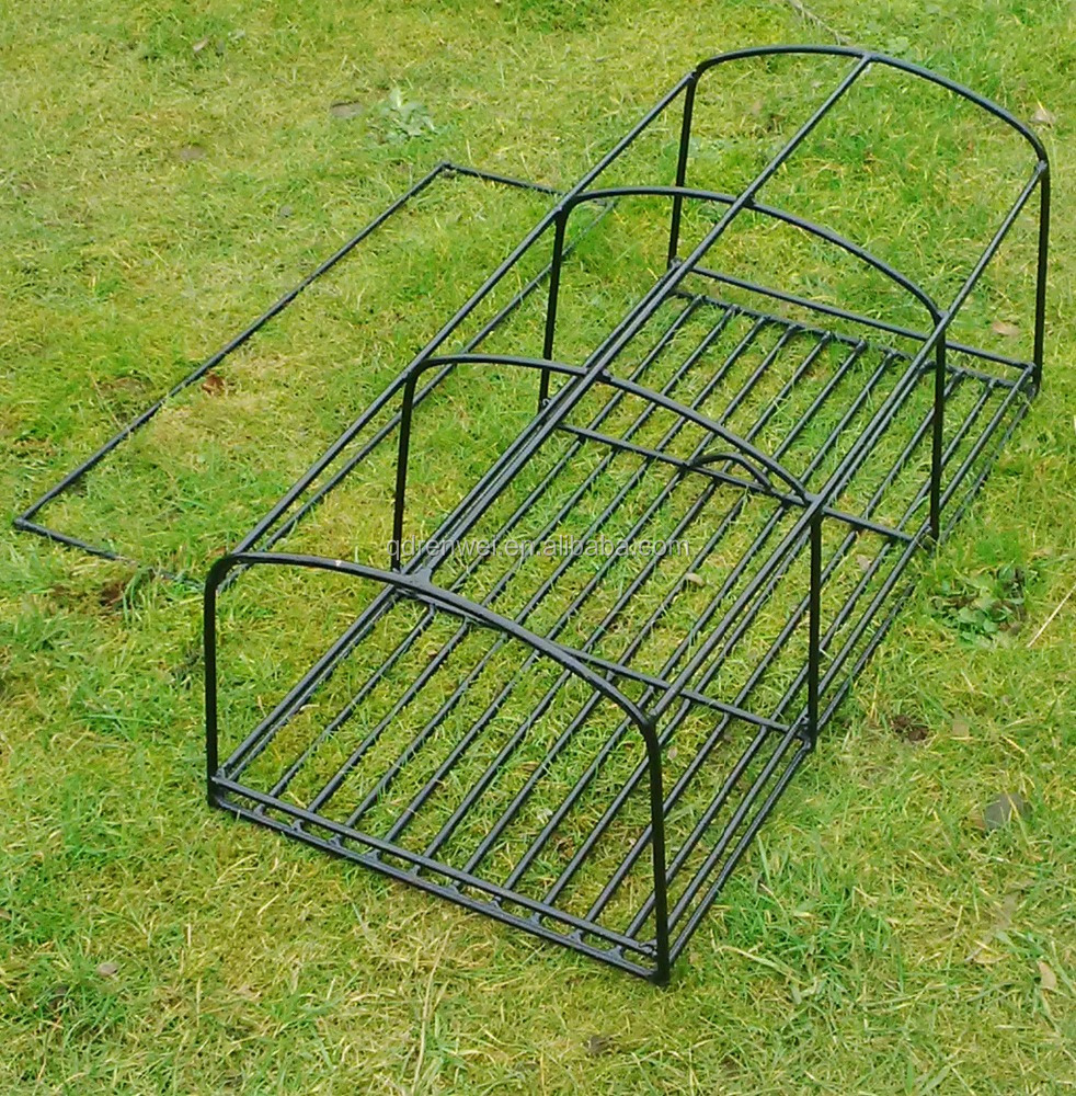 "2 X 4 BOW 32""X16""X12"" LOBSTER CRAB POT CREEL FRAME 8MM STEEL"