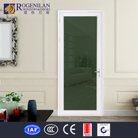 ROGENILAN interior frosted glass bathroom closet lowes sliding screen door