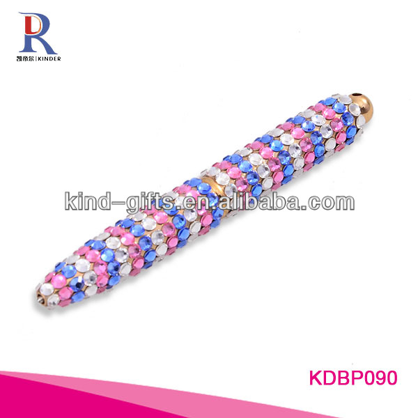 Hot Sale Bling Rhinestone Engraved Pen With Crystal China Factory