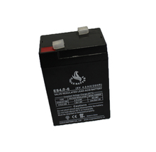 Rechargeable vrla 6v4ah storage ups battery