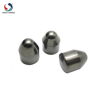 Stable performance Carbide buttons for rock drilling bits