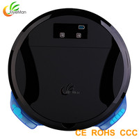 Strong Suction Power High Efficiency Robot Vacuum Cleaner With Mop With Water Tank