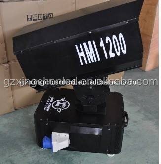 Outdoor HMI 1200w Sky Rose Light/Super bright tracker search rose light/led city color light