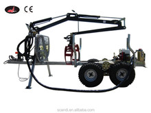 Professional Trailer Manufacturer 350 ATV Timber Trailer CE Certificate