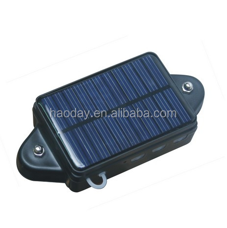 Solar powered portable GPS tracker for container/trailer tracking CCTR808S