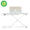manual hand gas spring height adjustable desk mini desk on table sit to stand desk adjustable height for office work &home study