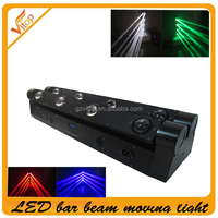 Brightness 8*10w RGBW led pixel beam moving bar light/ Double line/ King Bar series
