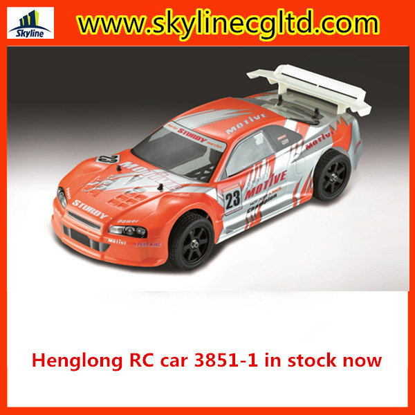 Hot sale children RC car Henglong 1:10 4 wheel drive rc electric toy car hot sales