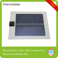 Flextech Solar Cell Phone Charger,Solar Battery Charger For Mobile Phone