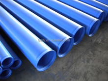 Outside 3lpe coating internal plastic coated spiral steel pipes made in China