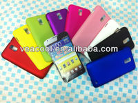 Rubber Hard Phone Case Cover for Samsung Celox 4G LTE Galaxy S2 i9210 E110s