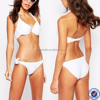 2015 China wholesale custom fashion tie side brazilian bikini swimwear bottom