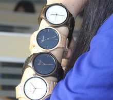 2016 new design, 100% natural wood customized wooden watch by Iwooden