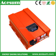 Acesum 12KW pure sine wave power inverter with AC charger built in