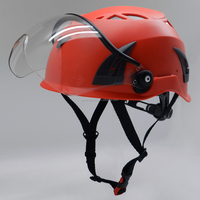 high strength ABS safety protective helmet with visor