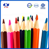 2015 hot sale hexagonal round shape drawing natural color pencils