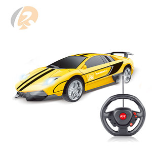 gravtiy induction 4CH light toy fast rc model car for kids