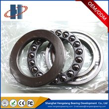 Bearing steel thrust ball bearing 51105 by size 25*42*11