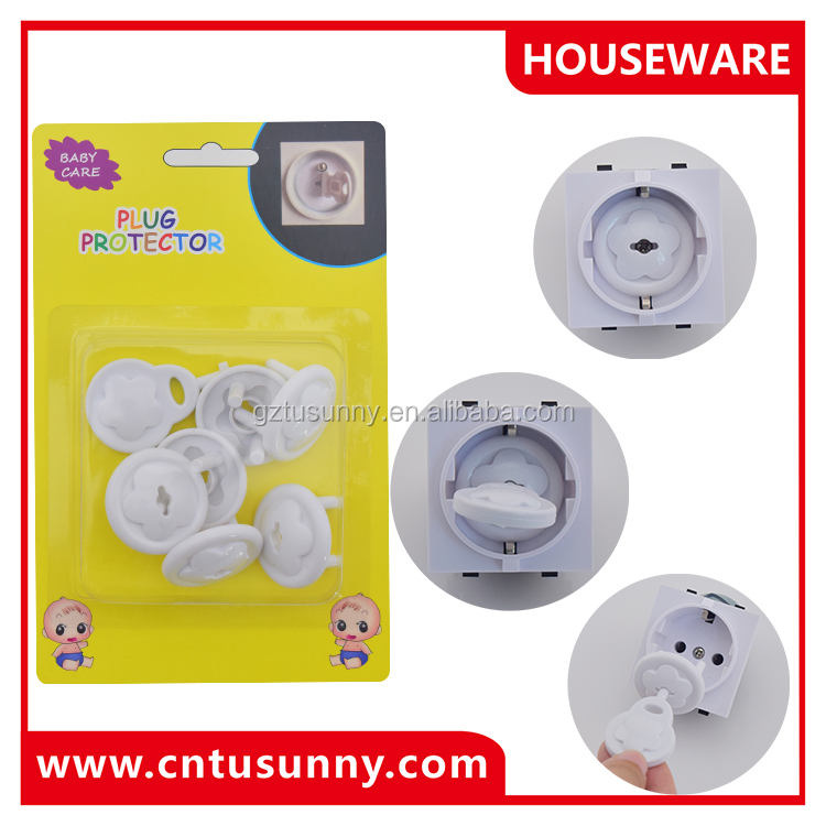 UK Standard Child Two Phase Electric Socket Outlet Plug Cover For Baby Kids Safety