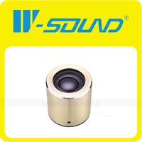 Light Weight M8 Wireless Portable Bluetooth Speaker Mini Aluminum Bluetooth Speaker With Mic